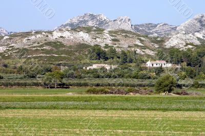 Rural Provence scenic