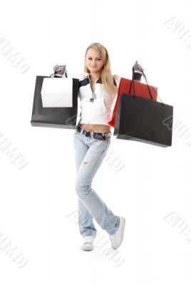 shopping teenage girl #2