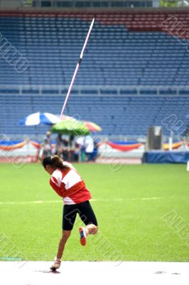 Women`s Javelin Throw for Disabled Persons