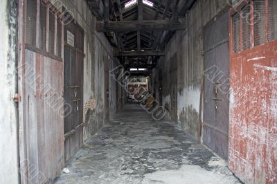 Dilapidated Colonial Warehouse