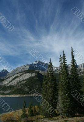 Spray Lakes and Goat Mountain