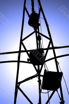 a power pylon / radar mast