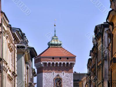 An ancient part of city. Poland.