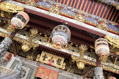 Decorative Chinese Clan House Ceiling/Canopy