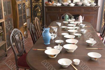 Vintage Peranakan Dining Room