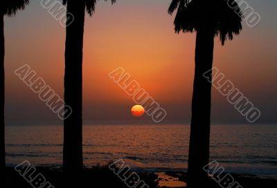Sunset Las Americas
