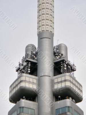 Television tower. Prague.