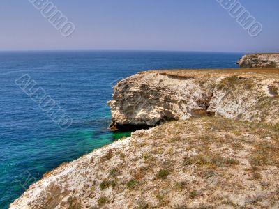 sea coast. The western Crimea. Tarhankut