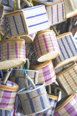 Rattan and Straw Baskets
