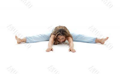 upavistha konasana wide-angle seated forward bend
