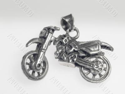 Moto silver