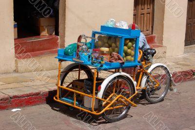 Tricycle Fruit Juice Vendor