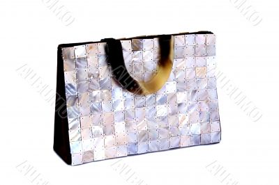 Mother of Pearl Hand Bag