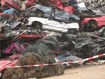 Dump old cars
