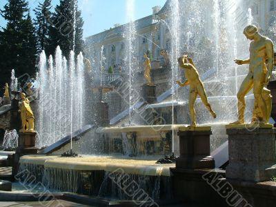 Large cascade, the figure