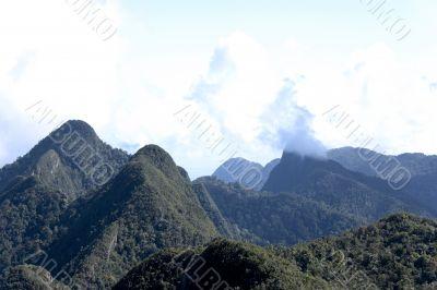Langkawi Island Mountain Range