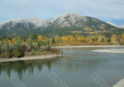 Kananaskis mountains, Bow River