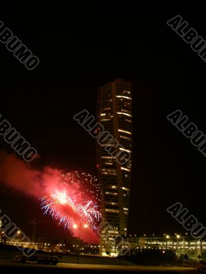 Turning Torso Fireworks