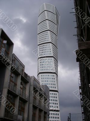 Turning Torso Construction