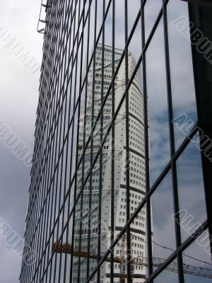 Turning Torso Reflection