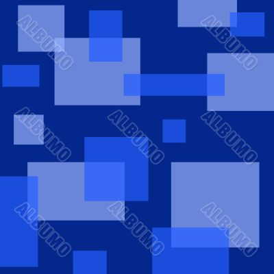 Square and Rectangle Retro Background