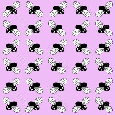 fly background cartoon