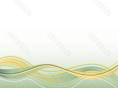 spiritual wave yellow