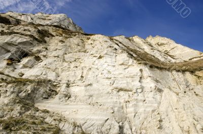 Cliffs and sky