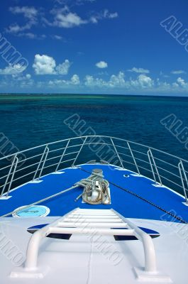 boat travelling