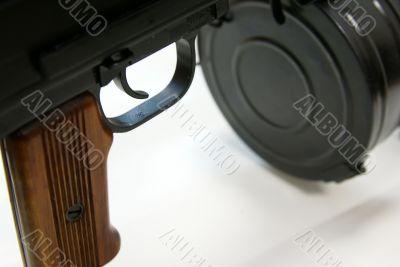 Close-up of Soviet machine-gun RPD-44 VIII