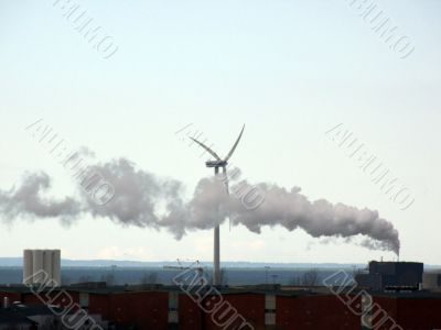 Wind Power & Smoke
