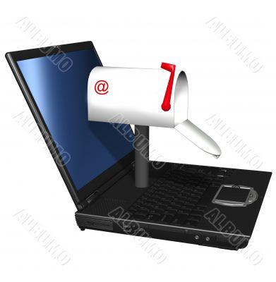 Computer Email Mailbox Address