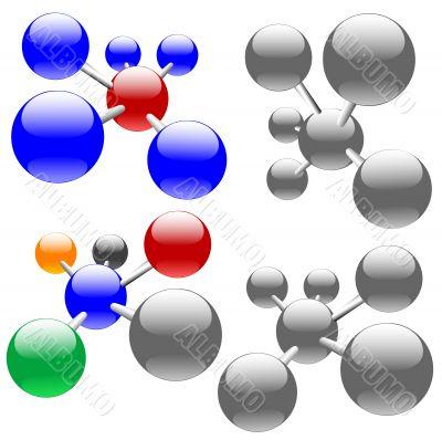 Molecules or Network Nodes