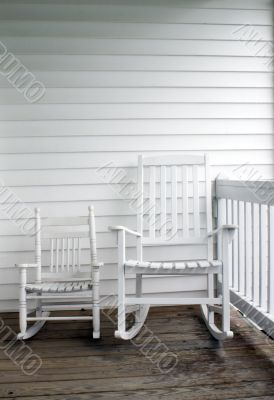 Adult & Child`s Rocking Chairs