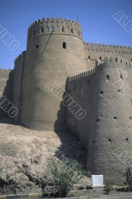 Outer walls towers