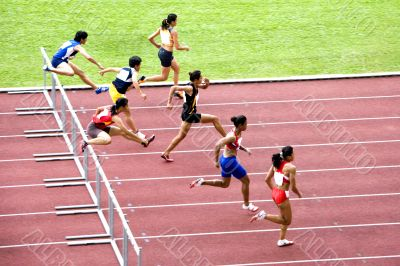 Women`s 100m Hurdles