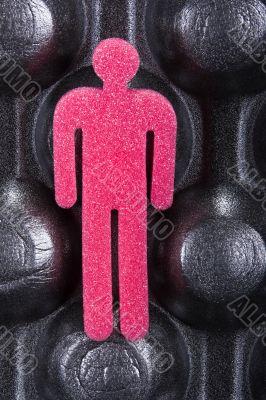The sponge man