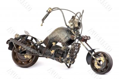 Scrap Motorcycle Model