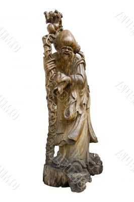 Antique Chinese Wood Carving