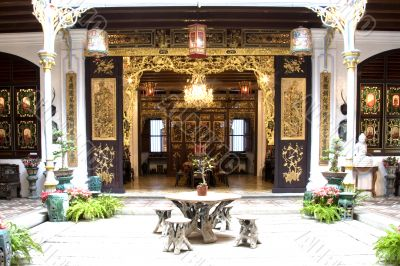 Patio of a Chinese Heritage Home