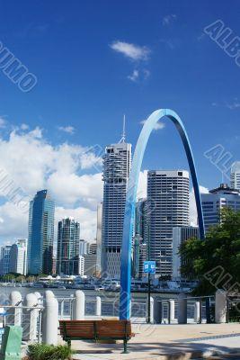 Sites of Brisbane: River, Boardwalk and Skyline