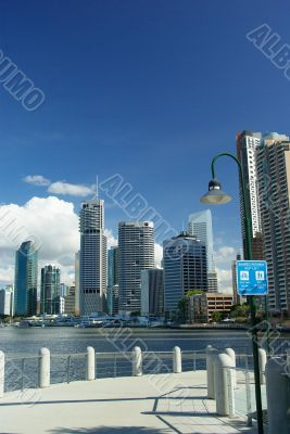 Sites of Brisbane: River, Boardwalk and Skyline