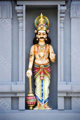 Hindu Temple Stone Sculptured Diety