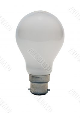 Bright Idea - Lightbulb With Clipping Path