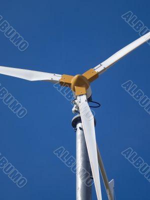 Detail of wind generator