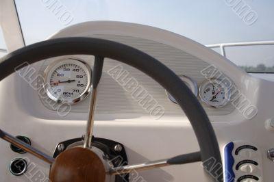 Boat Instrument Panel