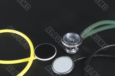 Several Stethoscopes