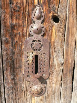 Old door & lock