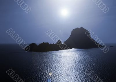 The magical island of Es Vedra