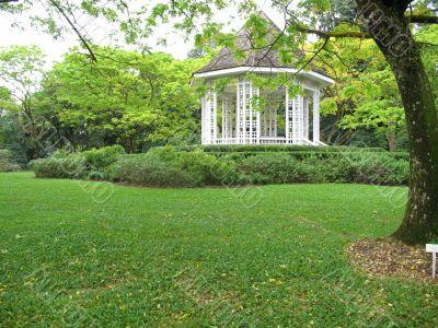 Pavilion in Singapore Botanical Gardens